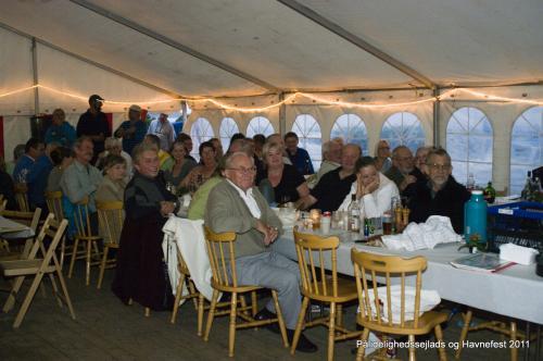 Pålidelighedssejlads og havnefest 2011